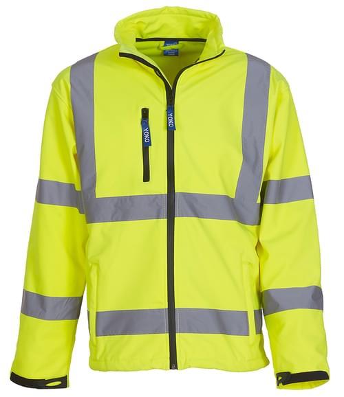 Yoko Softshell Jacket Yellow Size 3XL