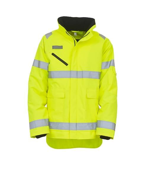 Yoko Fontaine Storm Jacket Yellow Size L