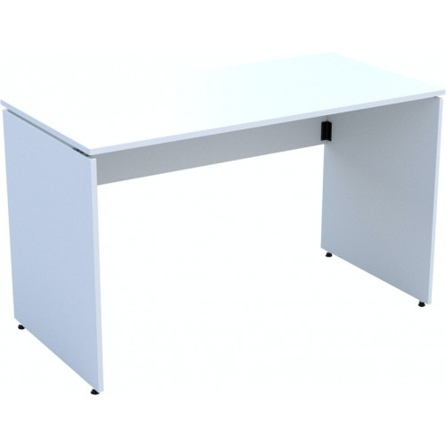 Ambus folding desk, 1200 x 600mm, White MFC