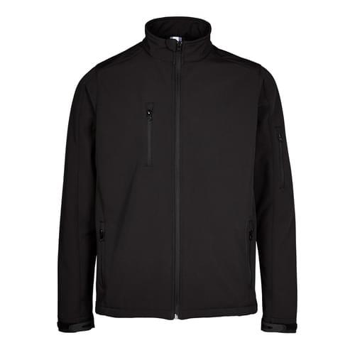 Black Soft Shell Jacket-20 Pcs-3XLarge