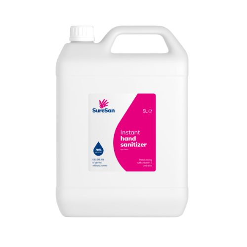 Hand Sanitizer Gel 5 Litre 70% Alcohol