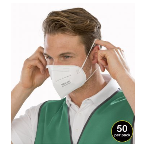 Result FFP2 4-Ply Disposable Respirator Mask  BOX 50