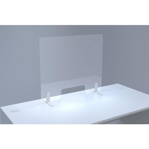 Sven Countertop Perspex Screen 800x700mm