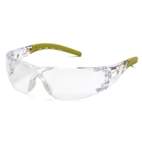Fyxate Clear Lens Anti-Fog - Gray/Lime Frame