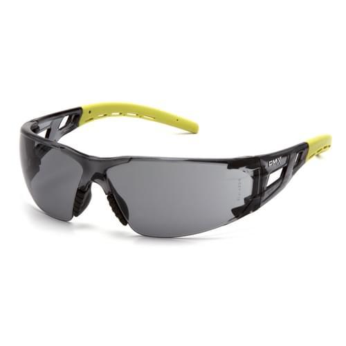 Fyxate Gray Lens Anti-Fog - Gray/Lime Frame