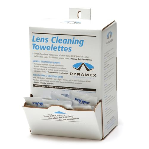 100 INDIVIDUALLY WRAPPED LENS CLEANERS - BOXED **MTO**