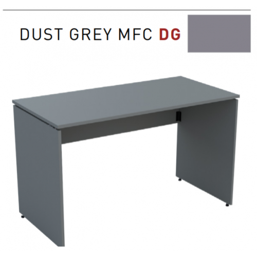 Ambus folding desk, 1200 x 600mm, Dust Grey MFC