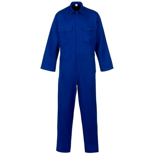 Weld-Tex Basic FR Coverall Royal Blue - 330gsm - Large