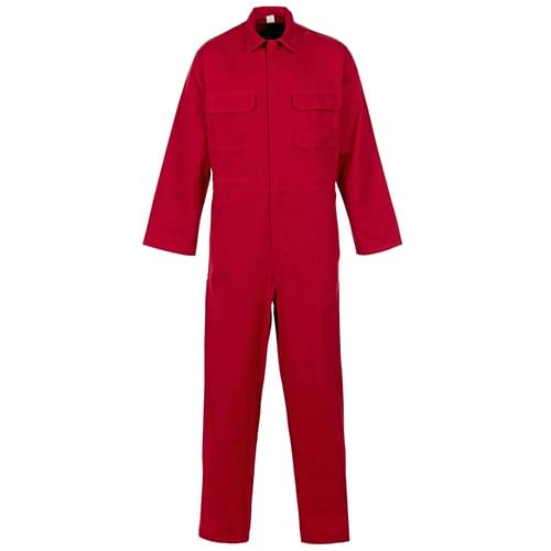 Weld-Tex Basic FR Coverall Red - 330gsm - Small