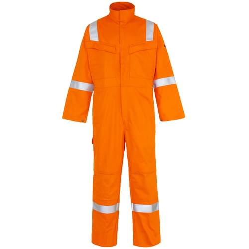 Weld-Tex Std FR Coverall with Tape Orange - 330gsm - 2Xlarge