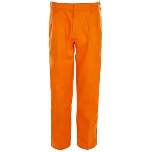 FR Trouser Orange  - 330 gsm - Regular - W38