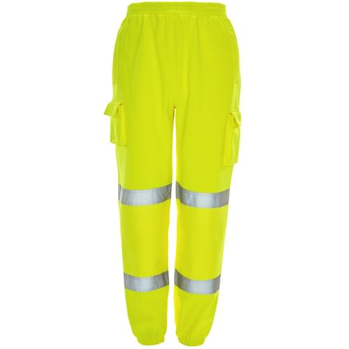HV Yellow Jogging trousers 2 Band - Medium