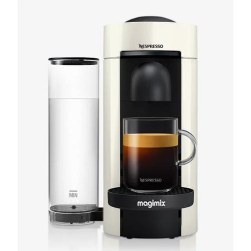 Nespresso Vertuo Plus Coffee Machine by Magimix, White