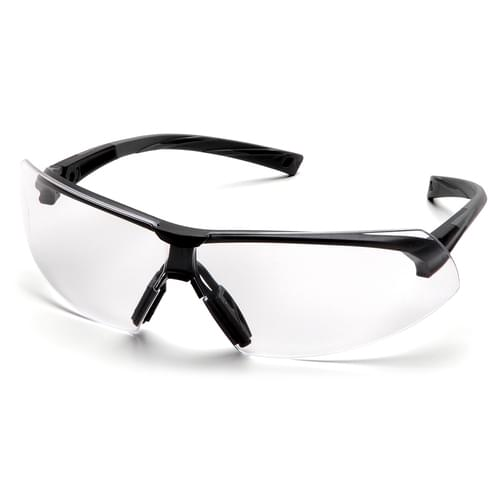 ONIX SUSPENDED CLEAR ANTI-FOG LENS - BLACK FRAME **MTO**