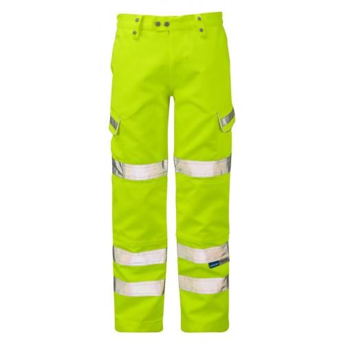 PULSAR Combat Trousers Yellow (Gents)