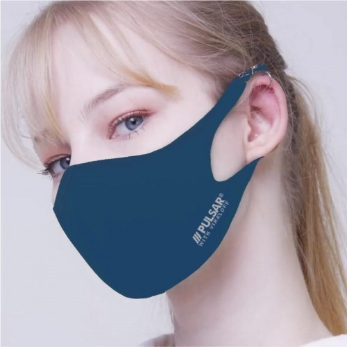 PULSAR AIRGILL FACE MASKS WITH VIRALOFF TECHNOLOGY  PETROL BLUE LARGE
