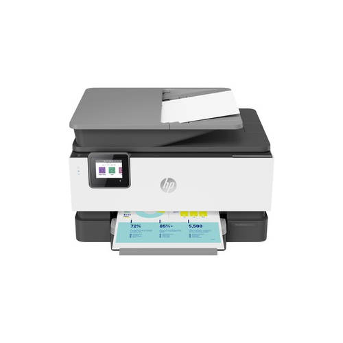 HP Officejet Pro 9012 Inkjet Multifunction Printer - Colour - Copier/Fax/Printer/Scanner