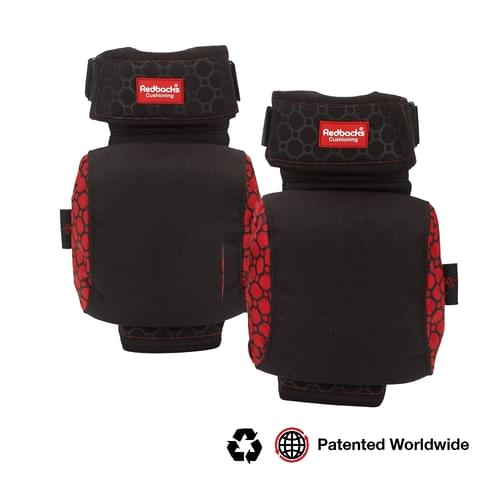 Redbacks Strapped Kneepads