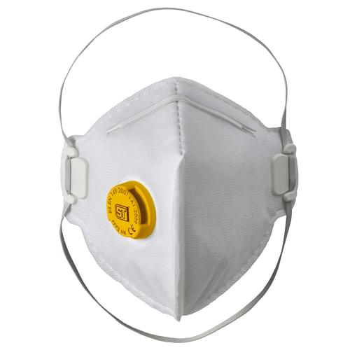 Supertouch FFP3 Valved Flat Pack Respirator Box10