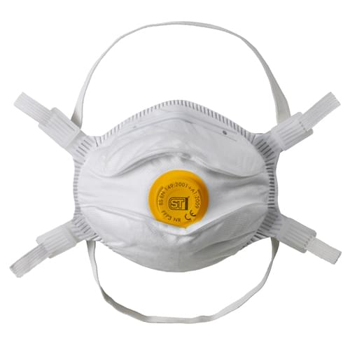 Supertouch FFP3 Valved Moulded Respirator Box 10
