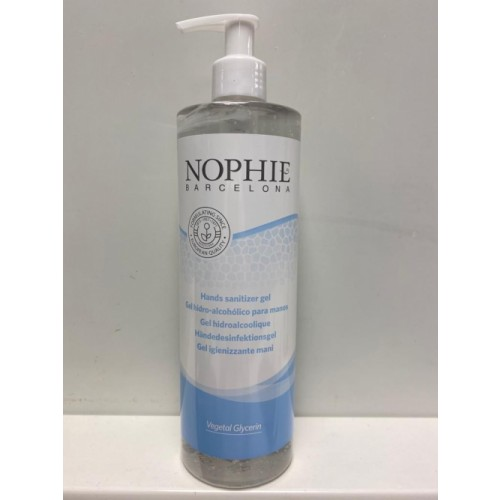 500ml Nophie Hand Sanitiser 70% Alcohol with Pump