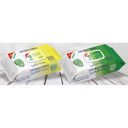 Antibacterial Alcohol Free Wet Wipes Pack 120