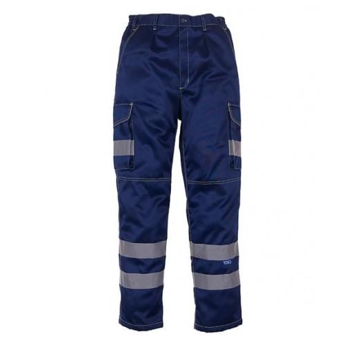 Yoko Polycotton Cargo Trousers
