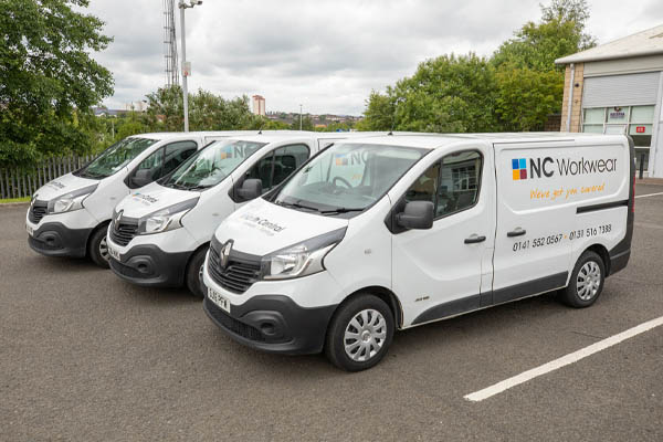 North Central Office Delivery Vans