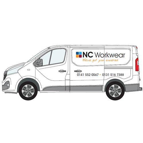 New NC Workwear Vans!
