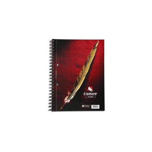 Lismore A4 Spiral Book 320 Pg