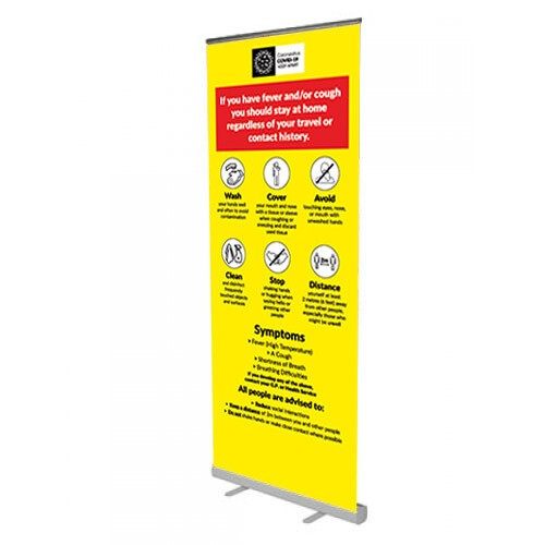 C19 Pull up banner