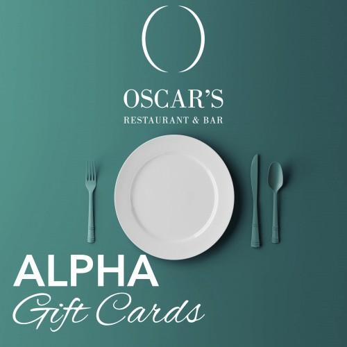 Oscars Restaurant & Bar - Gift Card