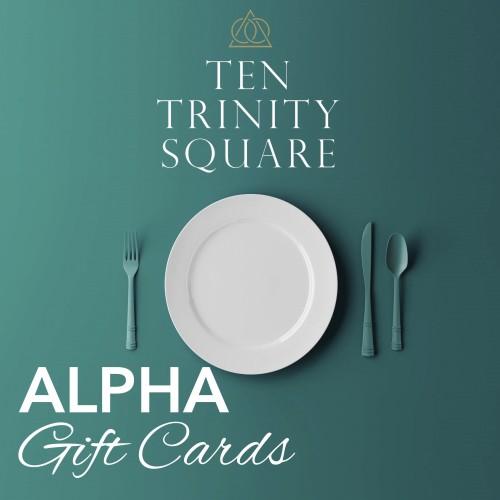 Ten Trinity Club - Gift Card