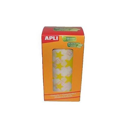 Apli Stars big & small yellow