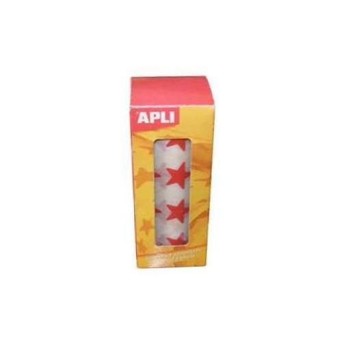 Apli Stars big & small Red 2360pcs