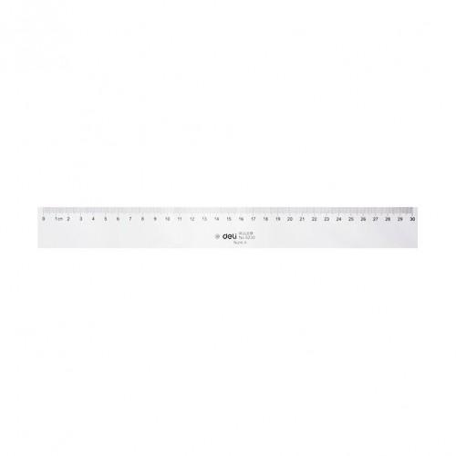 Deli Plastic Ruler 30cm