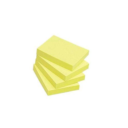 3M Tartan Notes 2x1.5 yellow 12s