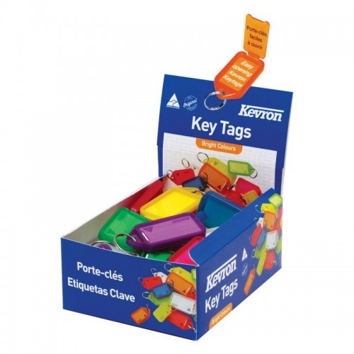 Kevron Giant Clicktags 74x38mm Box 50