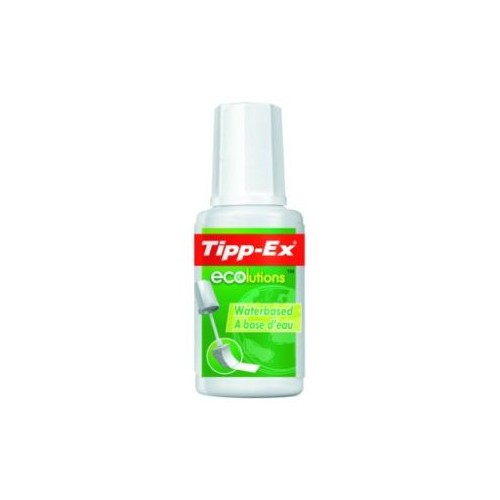 Tipp-Ex Ecolutions fluid white 20ml Pk10