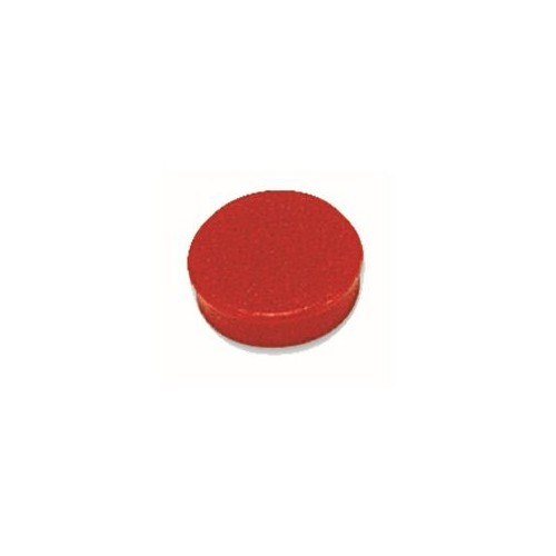Magnets Round 30mm red