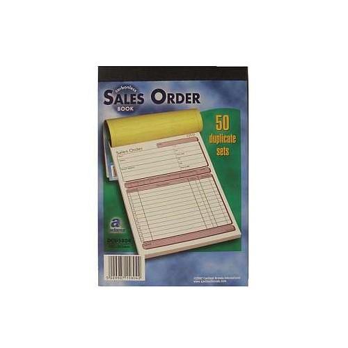 Adams Sales Order Book Dup NCR 50 Sets Pk5