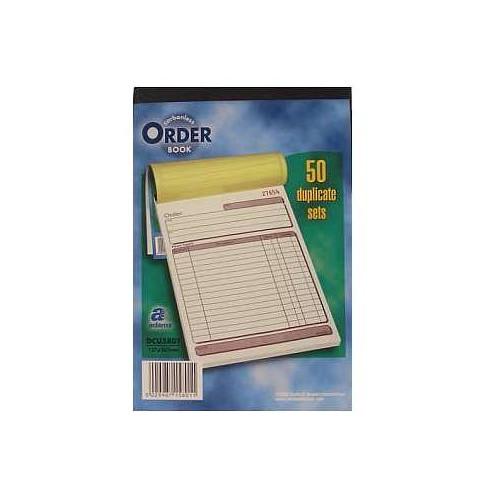 Adams Maxi Order Book Dup  NCR 50 Sets