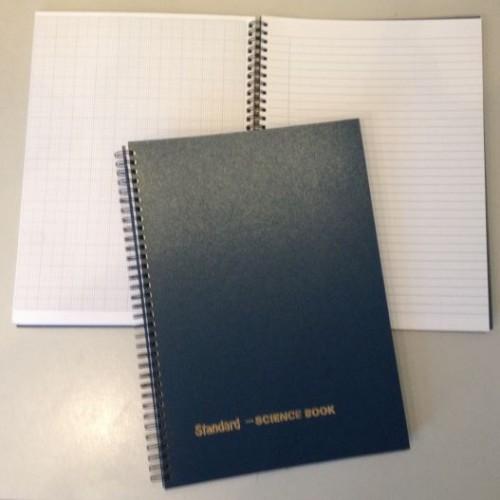 Standard Science Book A4 Wiro bound