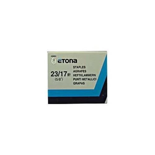 Etona No23 Staples H/Duty 17mm Bx1000