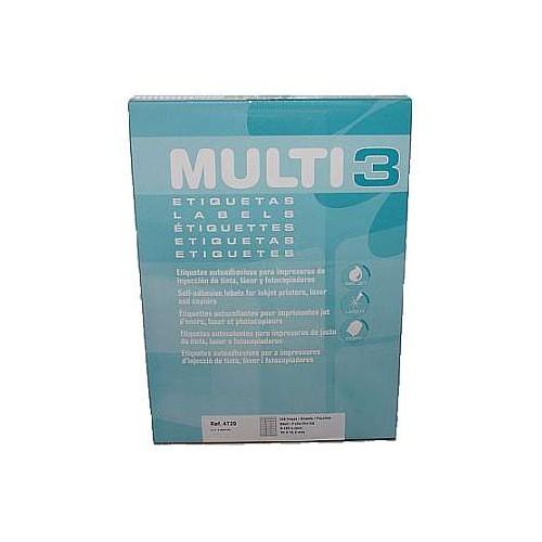 Multi3 Laser/Inkjet Label 16up Bx100