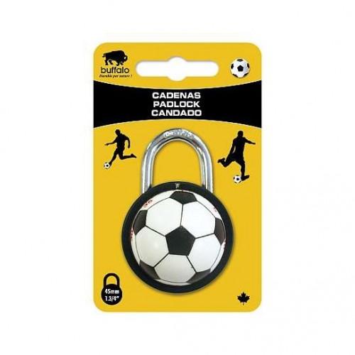 Buffalo Sportsball combo lock 45mm