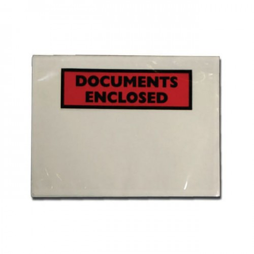 Documents Enclosed Envelopes  A7- printed  Box 1000