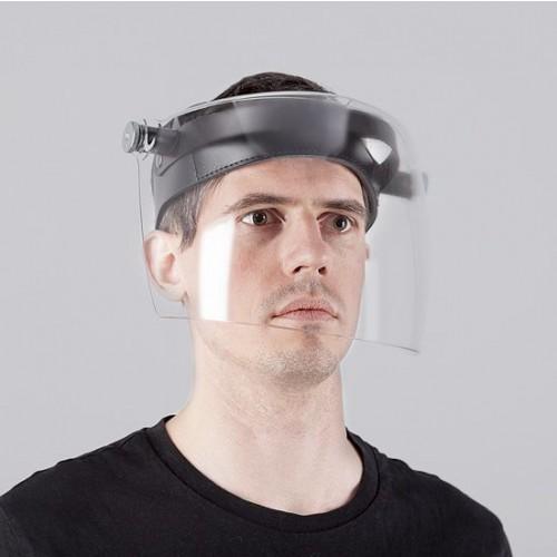 Adjustable Polycarbonate Face Shield