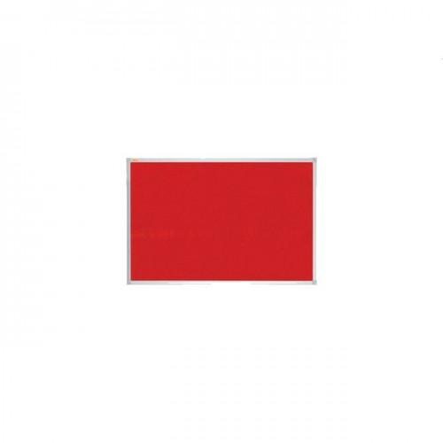 Felt Pinboard Xtra 90x60cm red