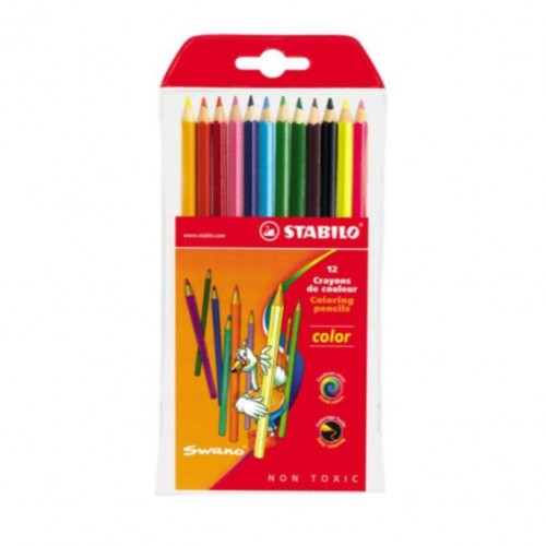 Stabilo Colour Pencils 12 cols